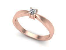 Women's ring with pearl